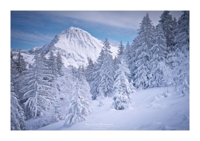 "Ambiance ""backcountry"" en versant nord de Belledonne (Focale : 65mm, ISO : 100, Pose : 1/250s, Ouverture : f/10)"